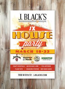 SXSW Poster J Black's