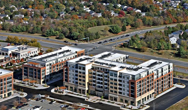 Goose Creek Village Aerial #7994 enhance