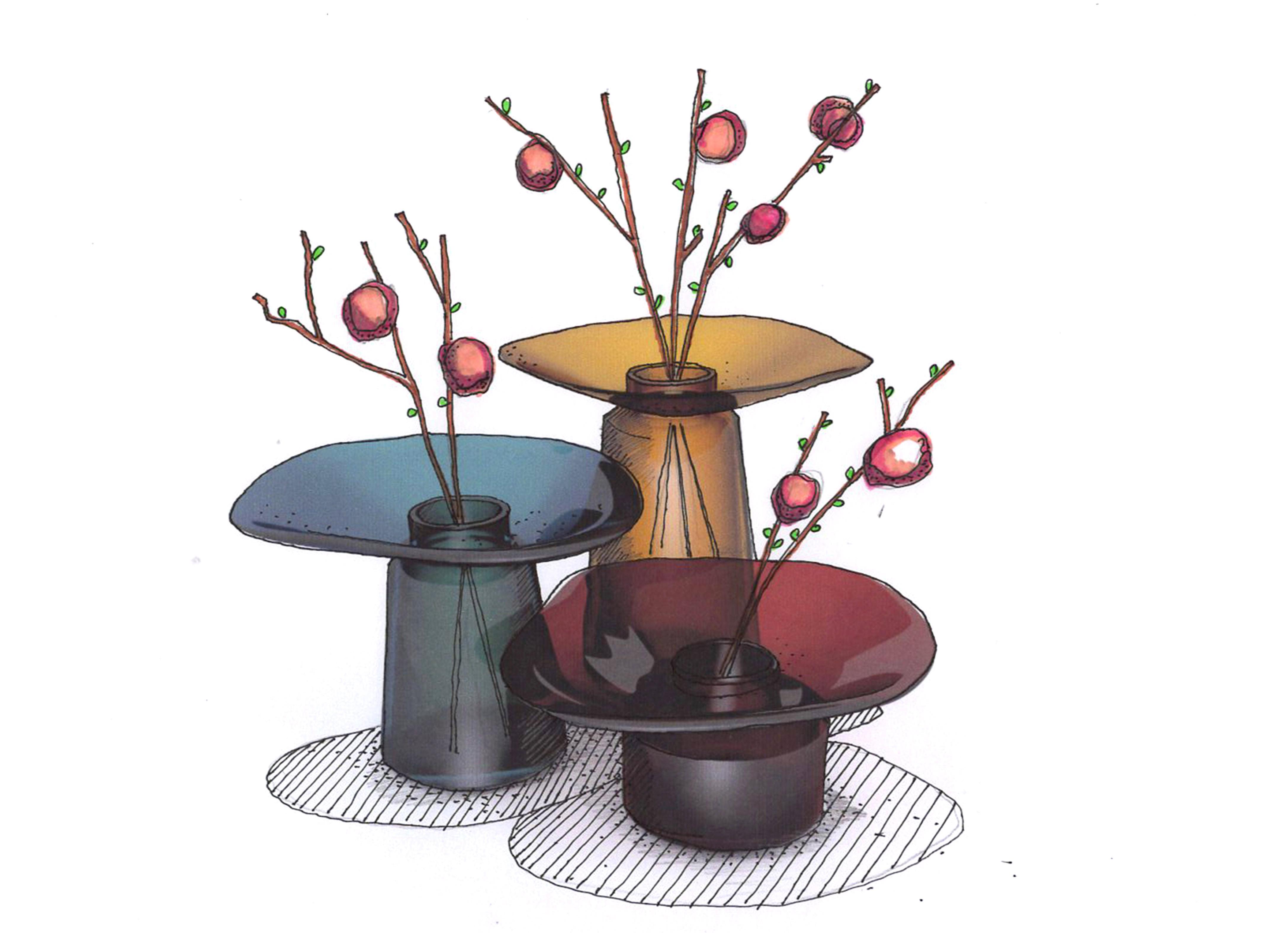 Vases Canopée