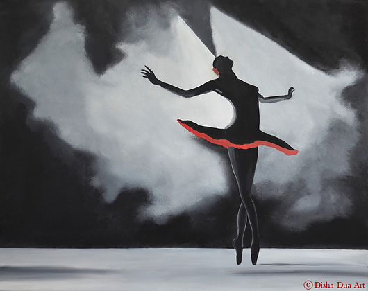 *SOLD* - Ballet is like dreaming on your feet