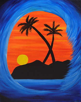 *SOLD* Sunset Surf