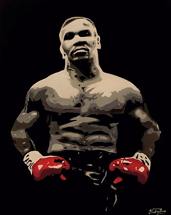 *SOLD* - Mike Tyson (Commissioned artwork)