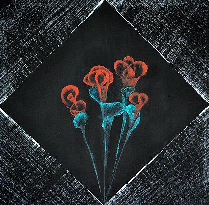 *SOLD* Night Bloom (Born Artist Series)