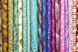 FSE - Rolls of Fabric Standing Up - Shutterstock