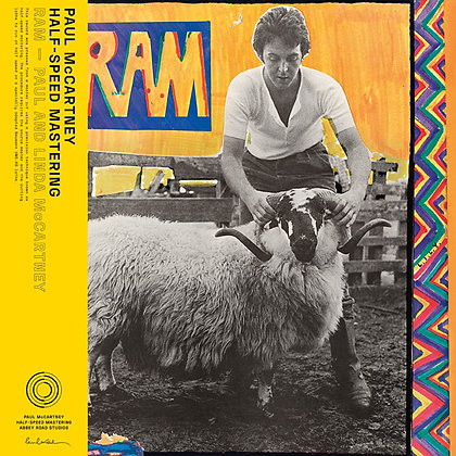 "Paul & Linda McCartney ""Ram"" 50th Anniversary Half-Speed Remaster"