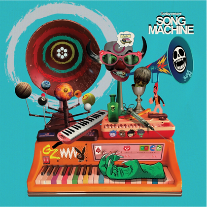 "Gorillaz ""Song Machine: Season One - Strange Timez"""