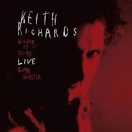 """Keith Richards """"Wicked As It Seems/Gimme Shelter"""""""