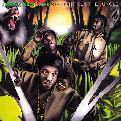 """Jungle Brothers """"Straight Out Of The Jungle/Black Is Black"""""""