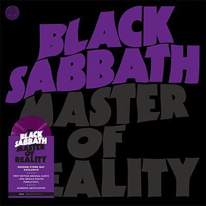 "Black Sabbath ""Master Of Reality"""