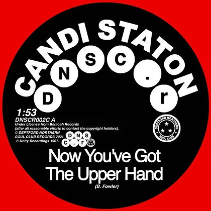 """Candi Staton/Chappells """"Now You've Got The Upper Hand/ You're Acting Kind Of.."""""""