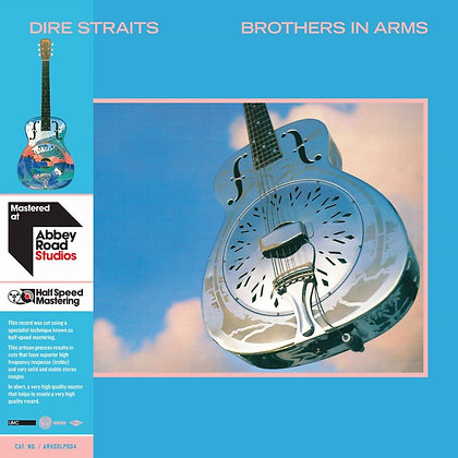 """Dire Straits """"Brothers In Arms"""" Half-Speed Remaster"""