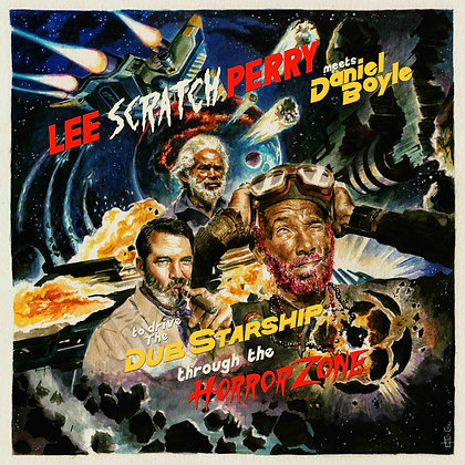 Lee 'Scratch' Perry & Daniel Boyle.Feat Max Romeo- Horror Zone