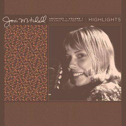 """Joni Mitchell """"Joni Mitchell Archives Vol 1"""""""