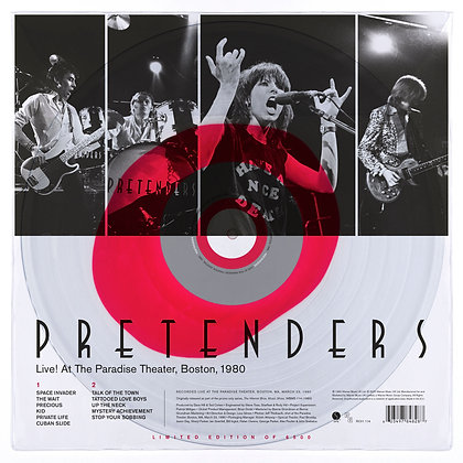 Pretenders- Live! At The Paradise Theater, Boston 1980