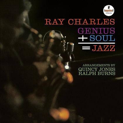 "Ray Charles ""Genius + Soul = Jazz"""