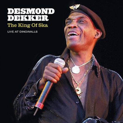"""Desmond Dekker """"The King Of Ska Live At Dingwalls"""""""