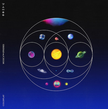 """Coldplay """"Music Of The Spheres"""""""