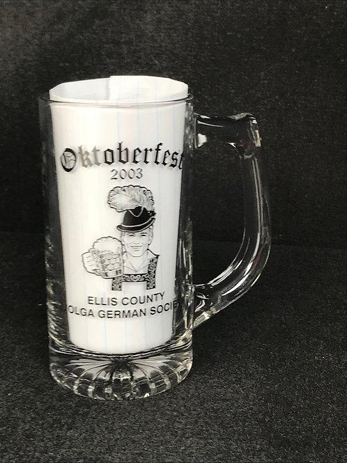 2003  Commemorate Beer Mug