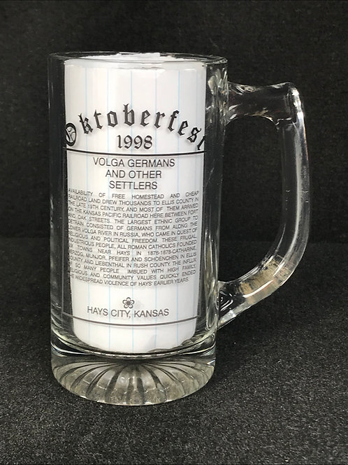 1998 Commemorative Beer Mug
