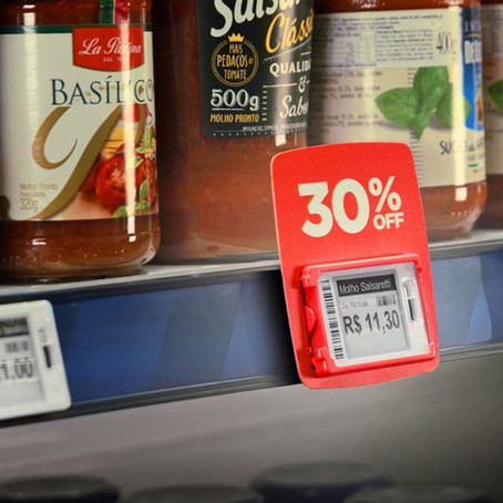 A importância das etiquetas eletrônicas para evitar divergências de preço