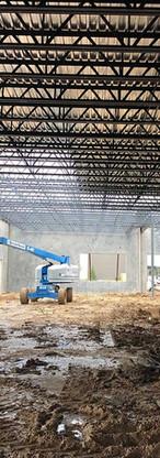 Steel Roof Erection