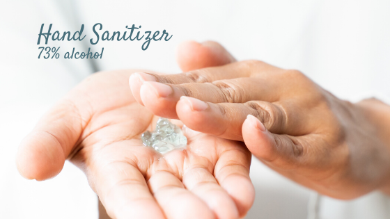 DIY Hand Sanitizer with Hyaluronic Acid and Medical Grade Isopropyl Alcohol