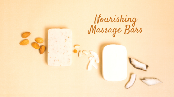 Nourishing Massage Bars with Cocoa Butter