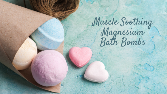 Muscle Soothing Bath Bombs