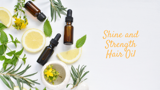 DIY Hair Serum with Citrus Oils