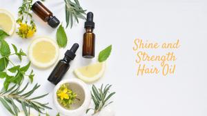 DIY Hair Serum with Citrus Oils