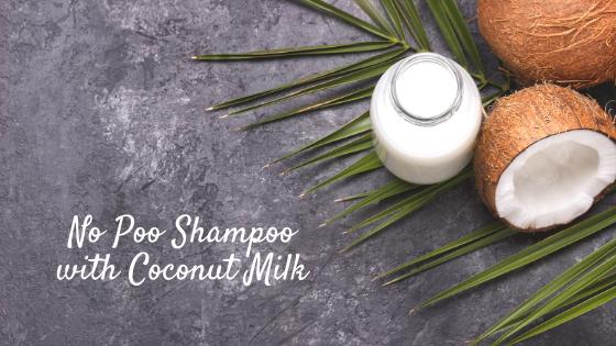 No Poo Shampoo with Coconut Milk