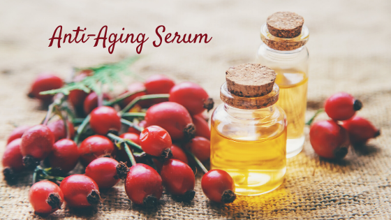 Anti-Aging Oil for Sensitive Skin - Only Three Ingredients
