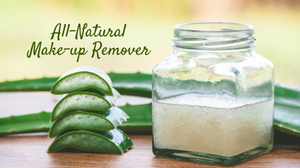 DIY Rose, Aloe Vera & Olive oil cleanser