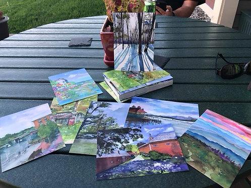 Postcards 5 x 7 - choose 4