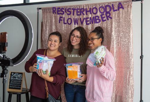 Community Organizing - resisterhoodLA's Hygiene Kit Build
