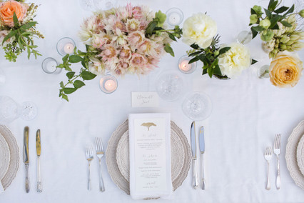 Event Styling + Print Design - Elegant Safari Party