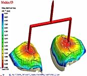 Thailand mold flow analysis study タイで金型モールドフロー解析樹脂流動解析