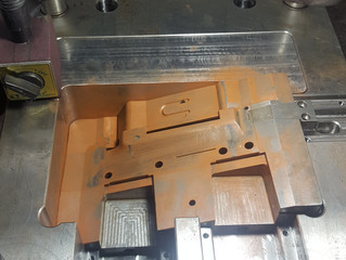 Plastic Mold parting line fitting