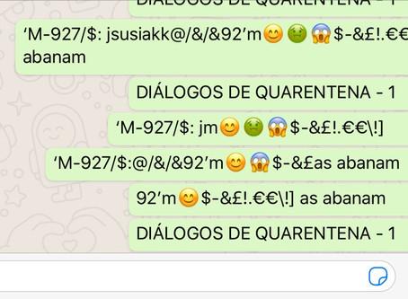 DIÁLOGOS DE QUARENTENA - 1
