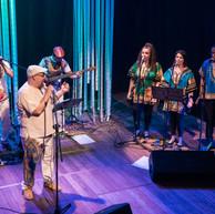 Mussa e o grupo Samba Combo