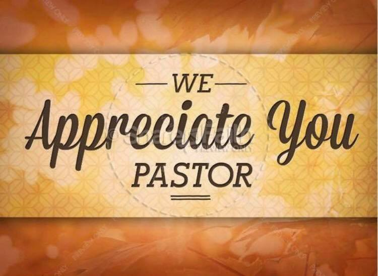 We Love You Pastor!