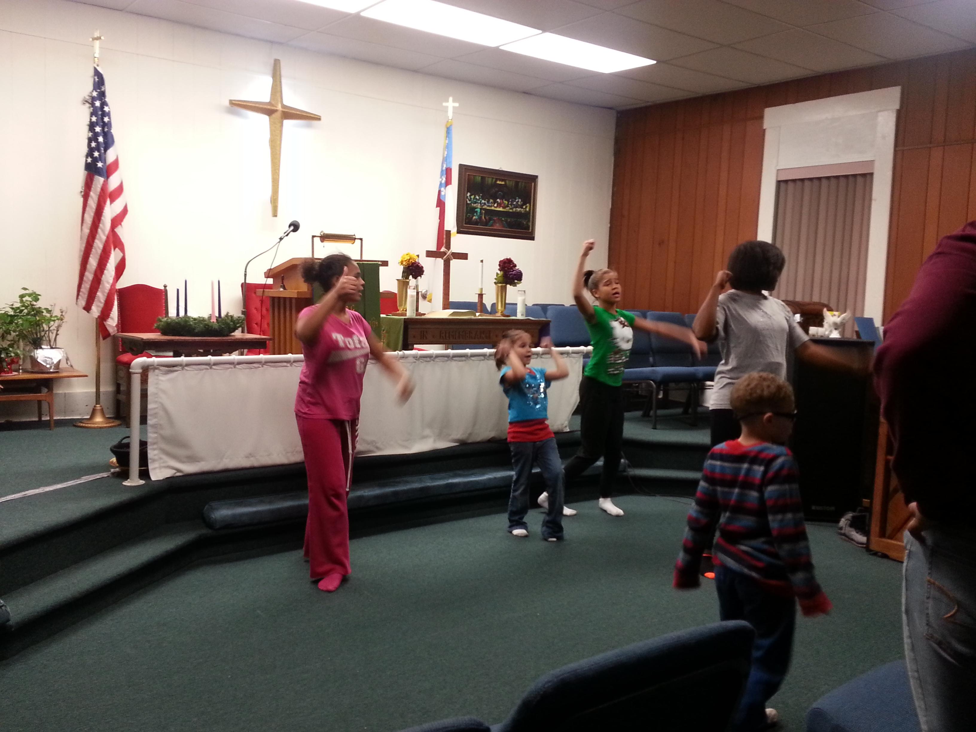 St. Paul Dance Rehearsal