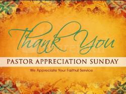 Surprise Pastor Appreciation Sunday
