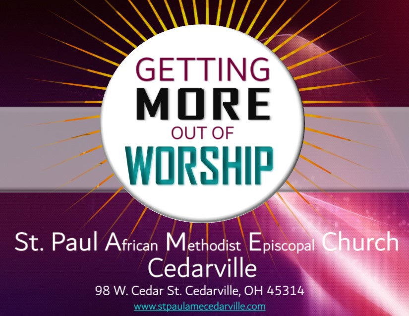 Getting More Out of Worship
