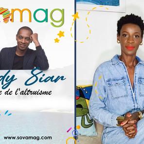 Afro Portrait : Claudy Siar, le visage de l'altruisme