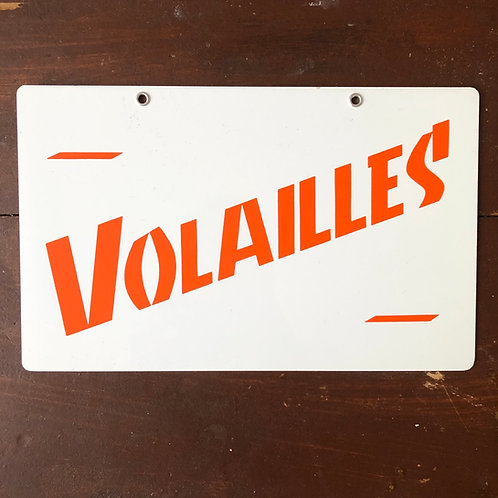Pancarte Volailles