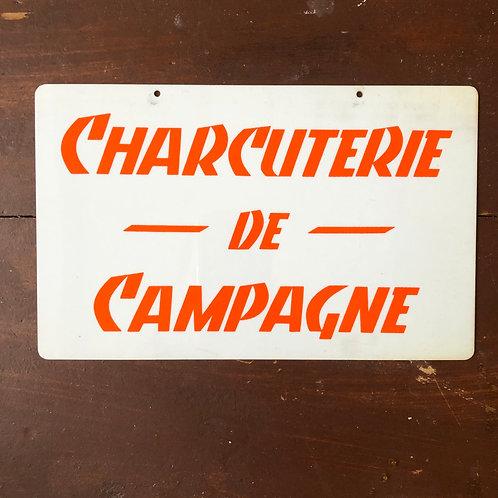 Pancarte Charcuterie