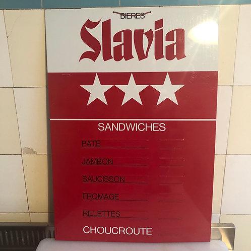 Tarifs publicitaire Slavia