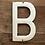 Thumbnail: Lettre émaillée B