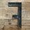Thumbnail: Lettre émaillée F